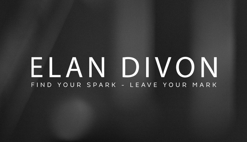 Elan Divon Author Logo Design
