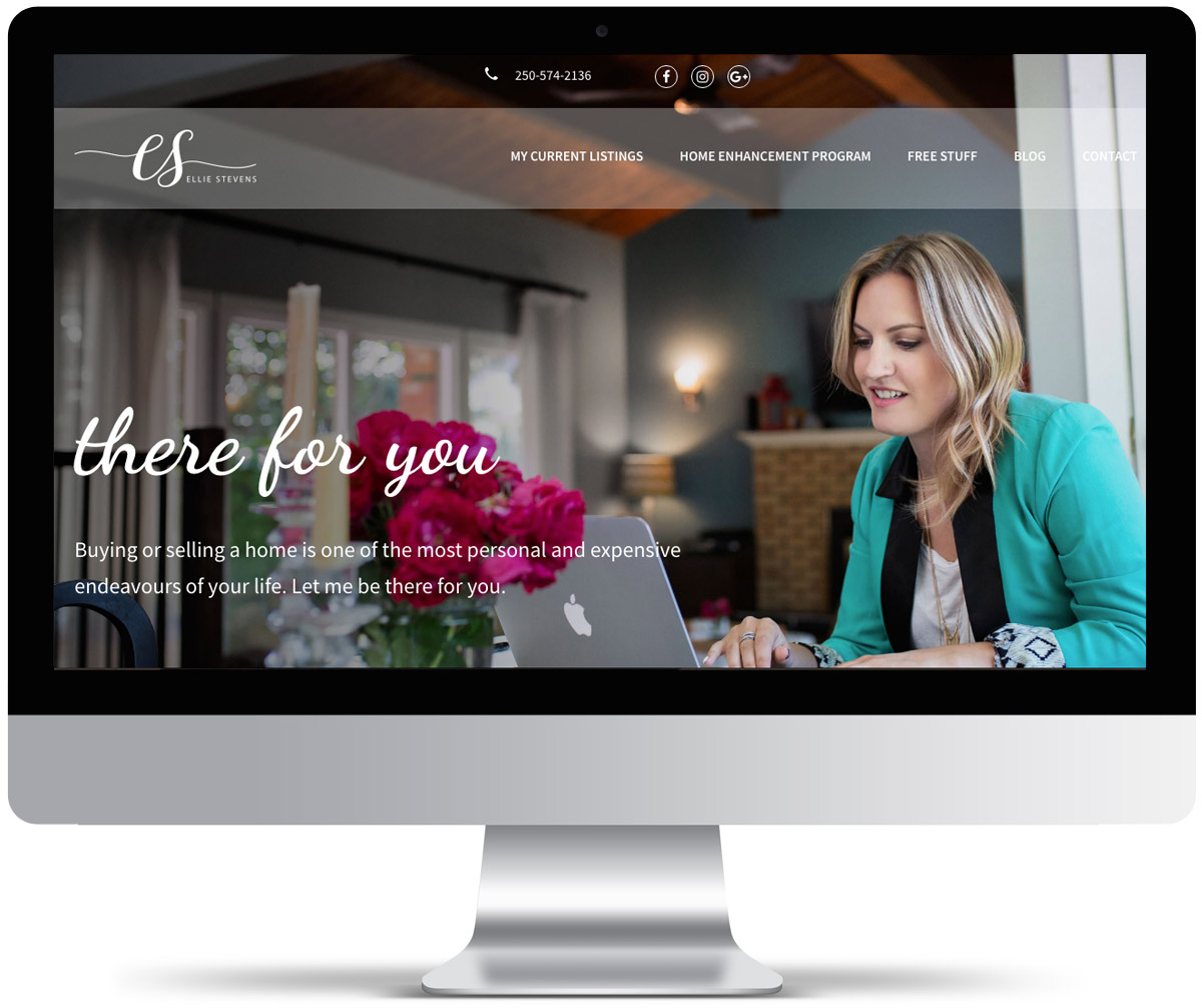 Ellie Stevens Website Design And Development