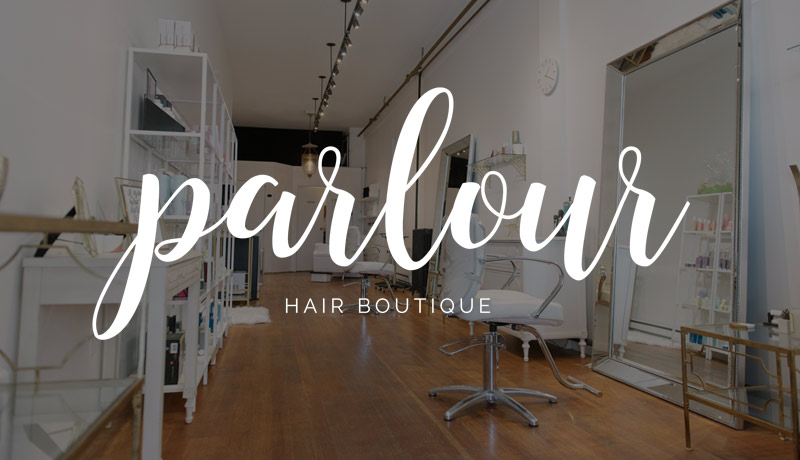 Parlour Hair Boutique Web Design